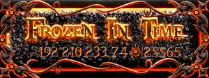 Frozen In Time signature banner by Spiral-0ut
