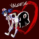 Skullgirls Fanart-Valentine by Inkblot-Rabbit