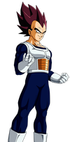 Colored 047 - Vegeta 012 by VICDBZ