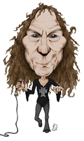 Ronnie James Dio by GoldenPier