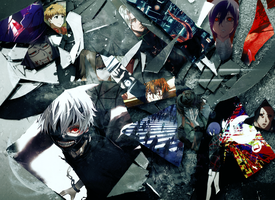 Tokyo Ghoul by AnnVanes