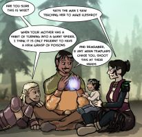 Dragon Age: Best Parents Ever by sqbr