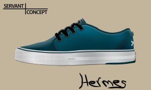 Servant concept shoe Hermes by palmovish