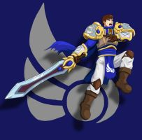 League of Fighters: Garen by Shouhda