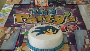 My Sonic Cake by 4ATOMIC4