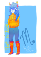 idk how to stop drawing vriska by Laekki