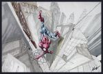Spidey in Three Point by Hoabert