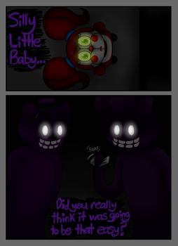 FNAF SL Comic: A Animatronic's Demise Pg 18 by superpinkygirl101