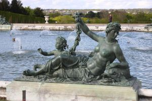 Versailles Fountain by 914four