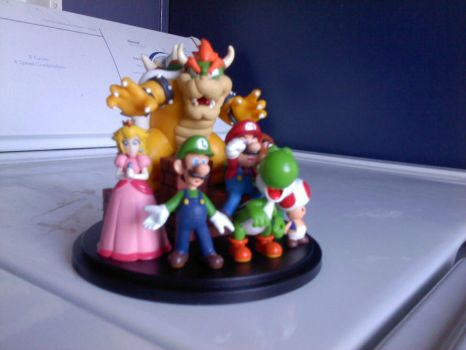 Nintendo Figurine - Front by ace1o1