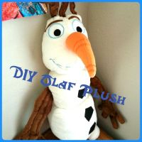 Olaf Plush DIY by Catzilerella