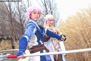 Katsucon 2015 - Mother and Son(PS) 05 by VideoGameStupid