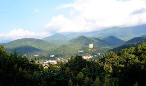 A Town Lost In The Smokies by Vesperity-Stock