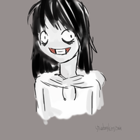 Jeff The Killer Doodle by TheMidnightPuppeteer