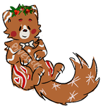 [edited] - gingerbread cat FREE by pine--socks