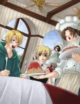USUK - Dining in Italy by mandachan
