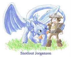 Httyd-Snotlout by 4leafcolour