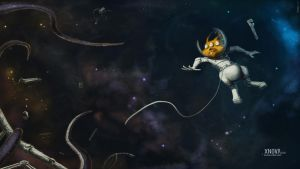 Space lemming by timbayo