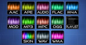 SonicTab icons for Aimp3 by EXO-02