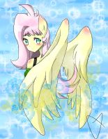 Another Fluttershy by thegreatrouge