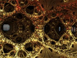 Caverns of buzzing Metal by PhotoComix2