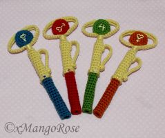 Sailor Scout Transformation Pen Covers and Cozy by xMangoRose