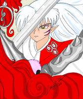 Having Fun Sesshomaru 1 by bluebellangel19smj