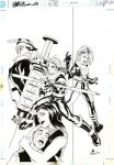 Arsenal issue 2 cover by RickMays