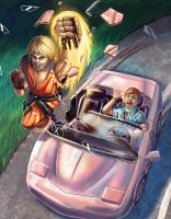 KEN VS KEN (STREET FIGHTER VS BARBIE) by BryanHeemskerk