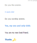I Love Cleverbot by ArminArtichoke