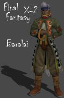 FFX-2 Baralai by Frozen-Knight