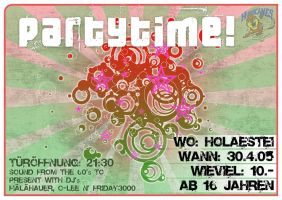 Partytime - Flyer by Razor99