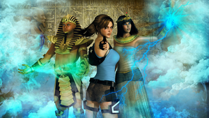 Lara Croft And The Temple of Osiris by ElinorX