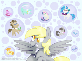 Background Bubbles by Radioactive-K