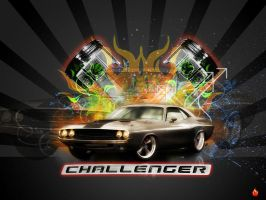 Dodge Challenger by kamao