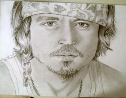 Johnny Depp - finished by shaharpr