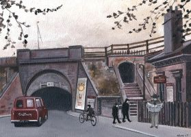 Cadbury and Bournville Station by JadeMoonRabbit