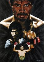 Manny Paquiao by SteveAlce