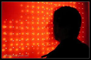 Silhouette LED Dots by AlexCphoto