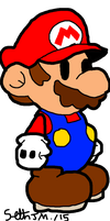 Paper Mario by UltimateComicsCanada