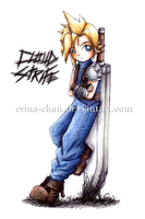 Cloud Strife by Erina-chan