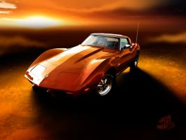 Corvette Summer by theCrow65