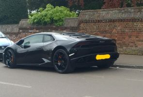 Black on black Lambo by Car-lover33