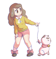 Bee and Puppycat by mechanical-resonance