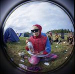 Spiderman at Roskilde by Sadna