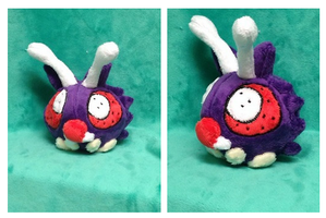 Venonat Pokedoll by Glacdeas