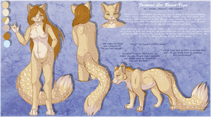 Animated +Jassy Reference Sheet+ by Shadi-Carcer