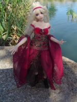 Zaryana Art Doll by LindaJaneThomas