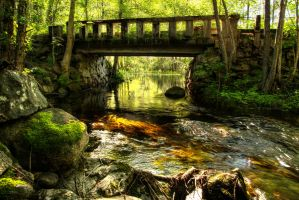 Rural bridge I by Enigmaticus