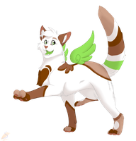 Wyeth is struting her stuff by safirethedragon